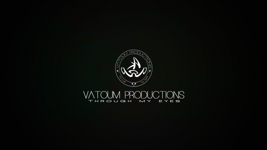 Vatoum Productions Black Logo