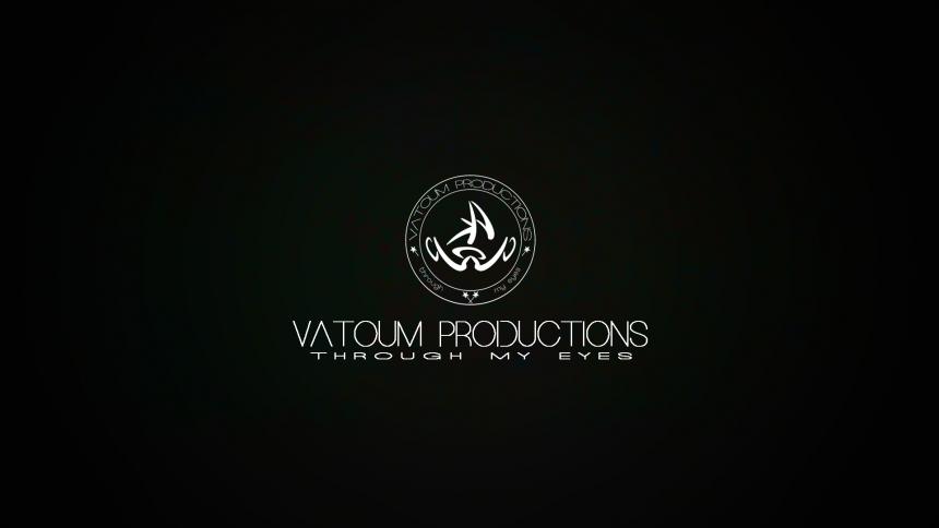 Vatoum Productions Black Logo