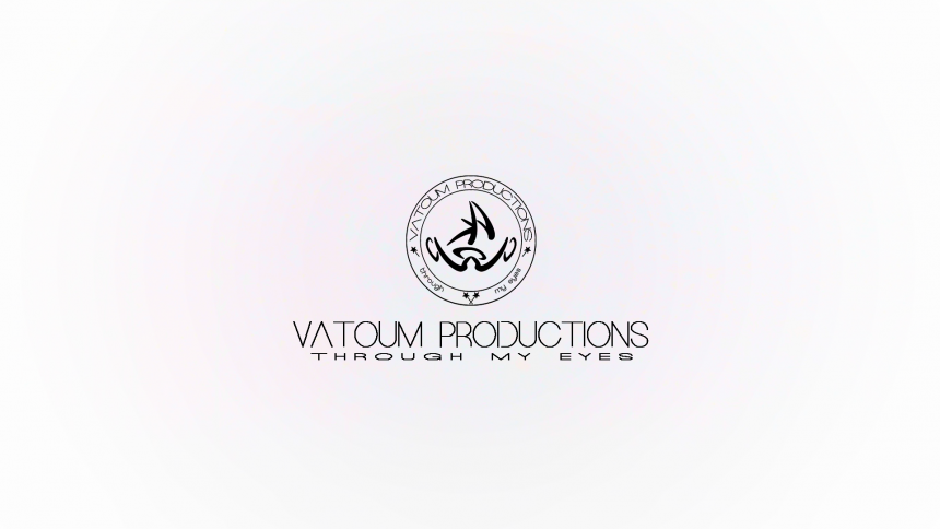 Vatoum Productions White Logo