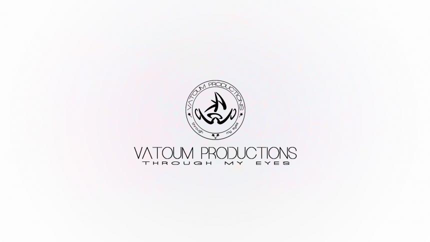 Vatoum Productions White Logo